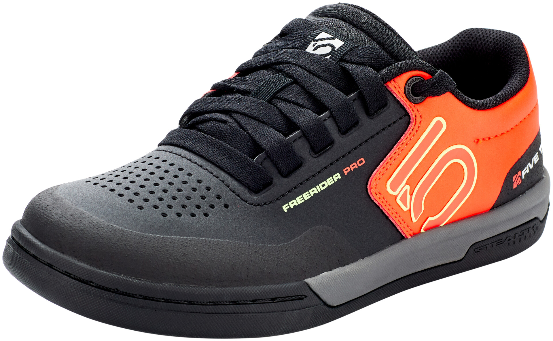 adidas Five Ten Freerider Pro Chaussures pour VTT Homme, core blacksignal greensolar red